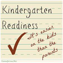 Gearing Up for Kindergarten